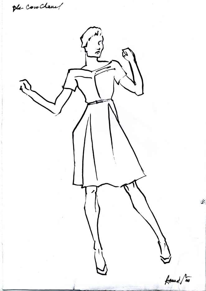sketch chanel