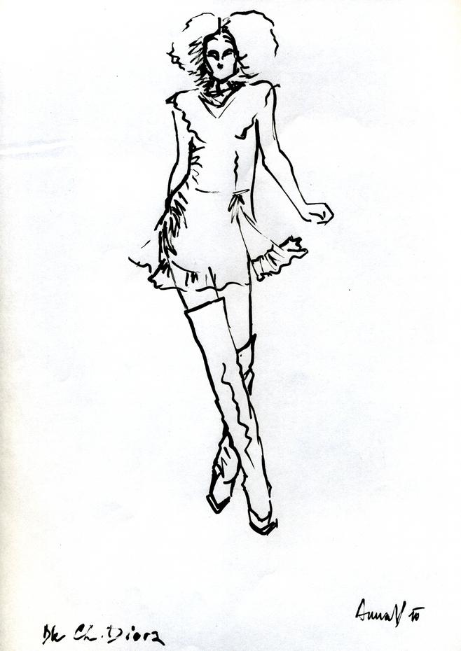 sketch dior2