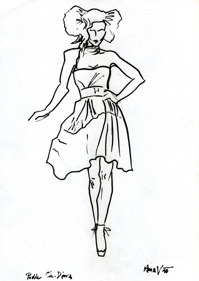 sketch dior3
