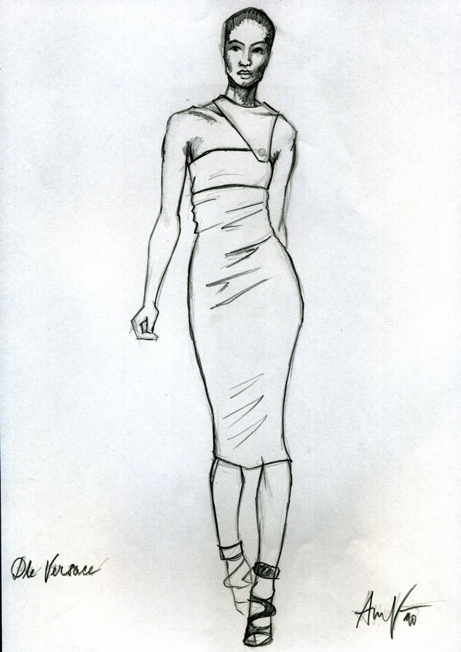sketch versace1