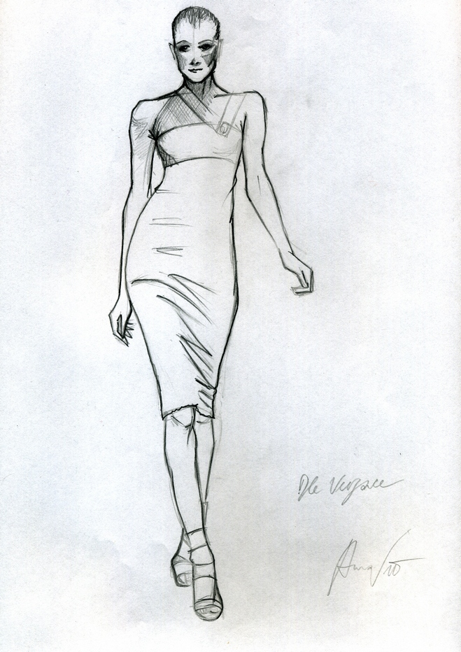sketch versace2